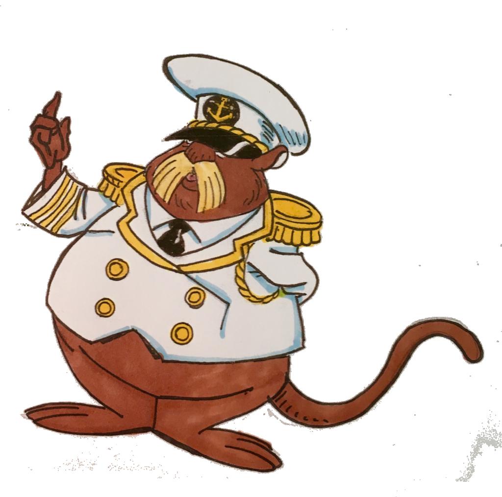 Aquanuts Admiral Hornswoogle Tony Franco