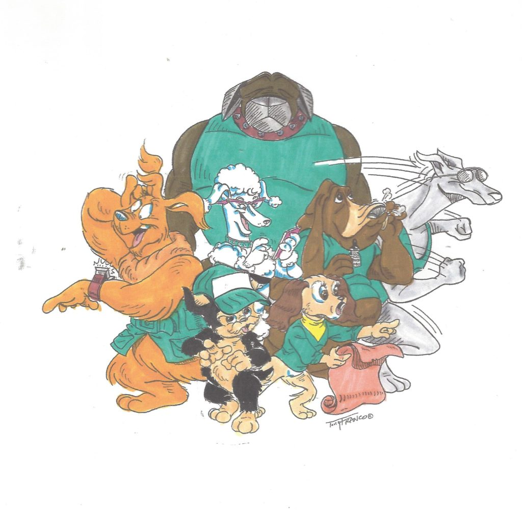 W.a.g. Tales, Group Shot With Cap, Color,