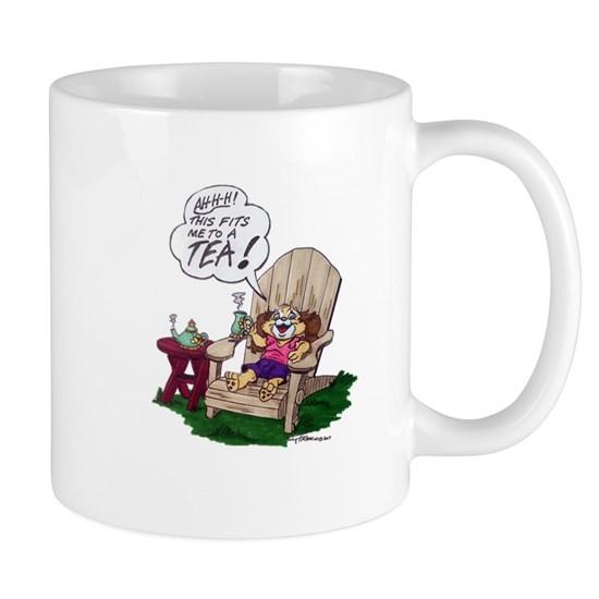 Snuggles Tea Mug