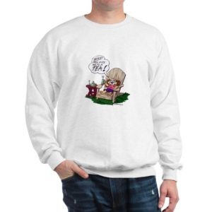 Snuggles Tea Sweatshirt