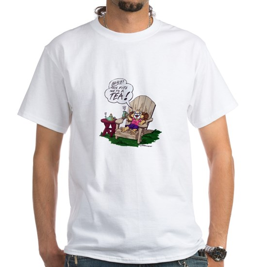 Snuggles Tea Tshirt Mens